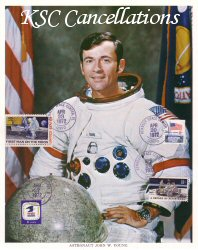 Click Here To Go To The KSC Cancellations Lithograph Portrait Gallery