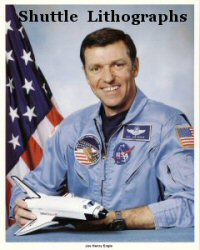Click Here To Go To The Shuttle Lithograph Portrait Gallery