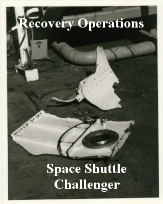 space shuttle challenger recovery - photo #8