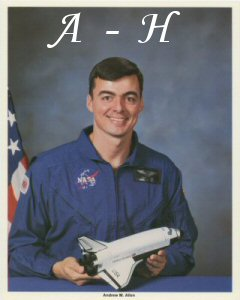 Click Here To Go To The Shuttle Lithograph  A to H  Portrait Gallery