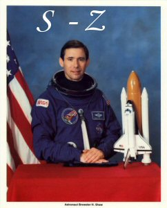 Click Here To Go To The Shuttle Lithograph  S to Z  Portrait Gallery