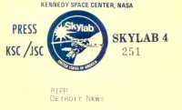 Click here to go to the SKYLAB 4 Gallery