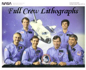 Click here to Go to the Shuttle Full Crew Lithograph Gallery